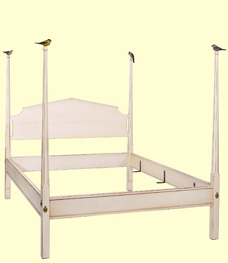 Sunnybrook Farm Bed from 45 degree angle from Footboard